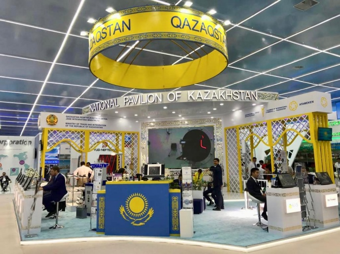 Kazakh Invest presented Kazakhstan's investment opportunities at I Caspian Economic Forum 2019