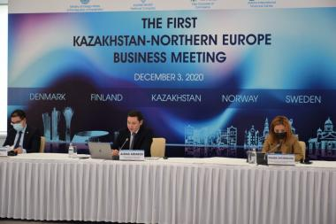 Investors from Northern Europe focus on Kazakhstan
